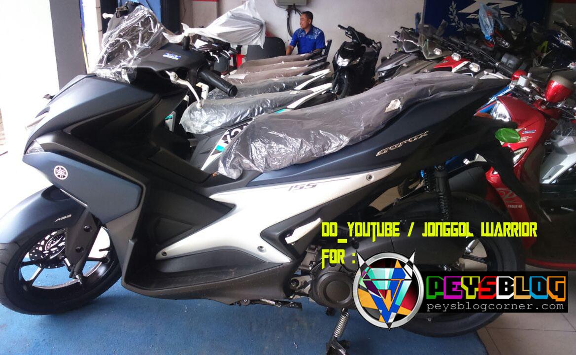 98 Gambar Modifikasi Aerox 155 Biru