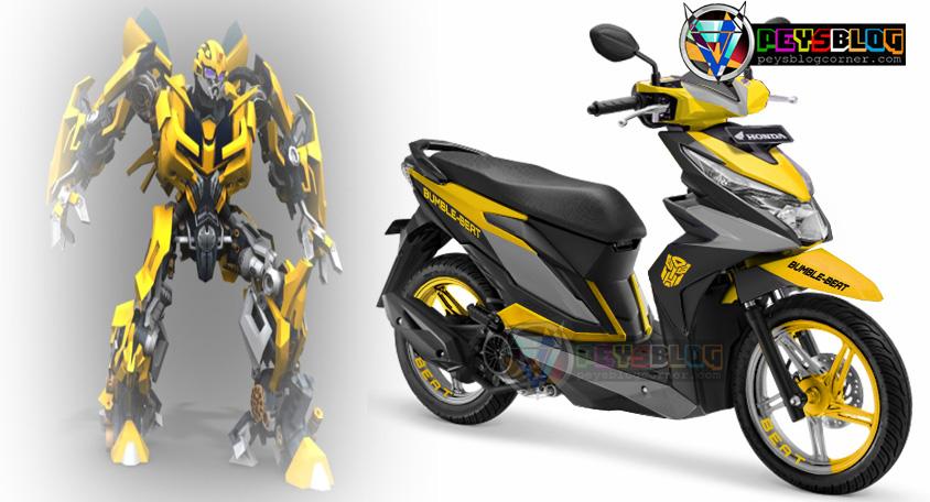 Bumble Beat Desain Kombinasi Warna Honda New Beat Esp Peysblog
